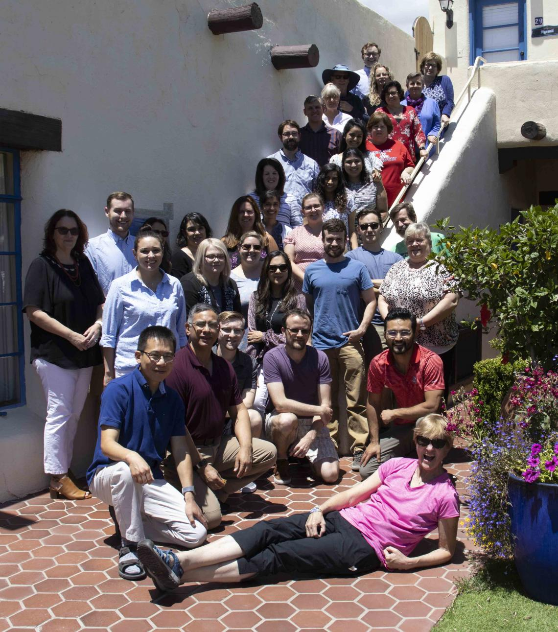 MCB Department on a retreat
